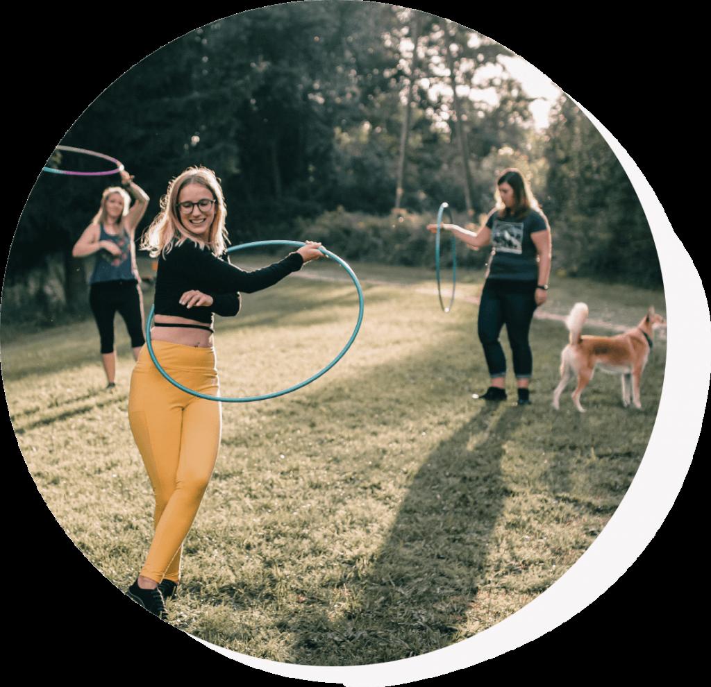 Hoopdance-Kurse